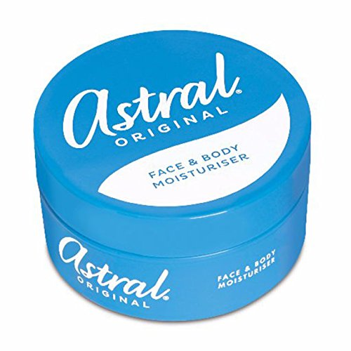 Astral Cream (THREE PACKS of Astral Cream x 200ml by Astral)