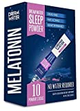 Dream Water Sleep Powder, Natural Sleep Aid, GABA, MELATONIN, 5-HTP, Snoozeberry, 3 boxs of 10 packets (30 day supply)