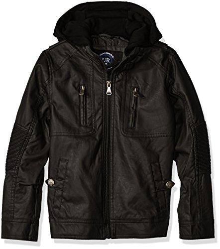 Urban Republic Ribbed Leather Jacket