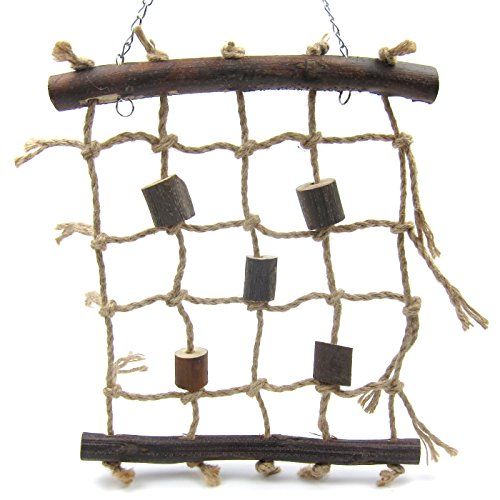 Alfie Pet by Petoga Couture - Kaila Hanging Rope Ladder Toy for Birds by Alfie