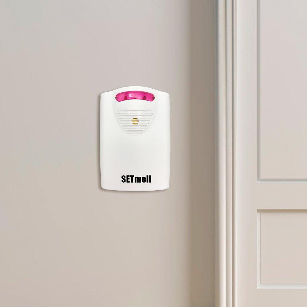 LTD 4336302868 1 AC Adapter /& 1 Long Range Reciever /& 1 PIR Motion Sensor Detector Weatherproof Patrol Infrared Alert System Kit ZHUJI JIARONG ELECTRICAL APLIANCE CO SETmell Wireless Home Security Driveway Alarm and Doorbell