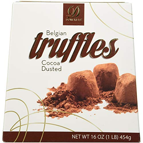 Donckels Cocoa Dusted Belgian Chocolate Truffles