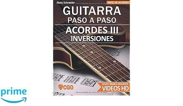 Acordes III - Guitarra Paso a Paso - con Videos HD: INVERSIONES en ...