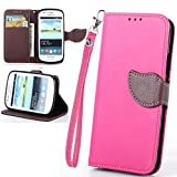 S7562 Case,S7562 Case Cover,Ezydigital Carryberry PU Leather Wallet Book-Style Case for Samsung Galaxy S Duos (GT-S7562 / S7560M )