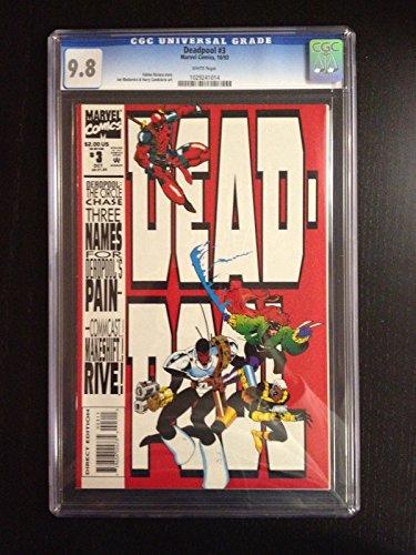 Deadpool - Circle Chase #3 Vol 1 1993 CGC 9.8 1st Full Copycat