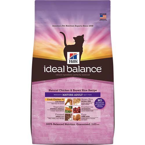 Ideal Balance Natural Chicken and Brown Rice Recipe Dry Cat Food