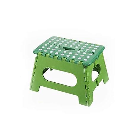 Amazon.com: MLX Taburete plegable de plástico, silla de ...