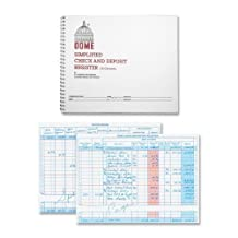DOM210 Check and Deposit Registry Book by DomeSkin