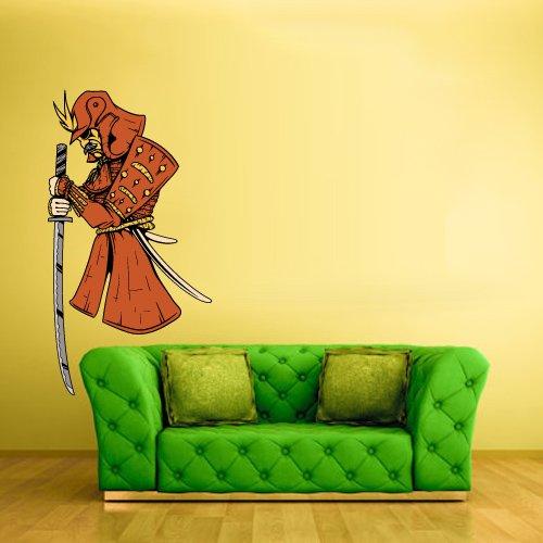Armour Decals - Full Color Wall Decal Sticker Samurai Ninja Warrior Armor Armour Knife (Col243)