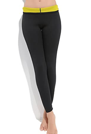 be8663b6888f7 Slimming Leggings Weight Loss Ankle Length Thermo Tight Neoprene Hot Sweat  Sauna Suit Yoga Burn Fat