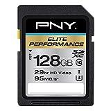 PNY Elite Performance Tarjeta de memoria de 32 GB de alta velocidad y de clase SDHC