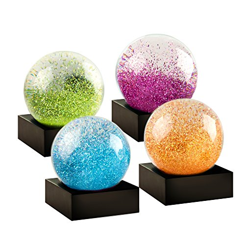(CoolSnowGlobes Jewel Mini Set of Four Snow Globes)
