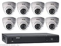Digimerge Flir M31082C8 MPX Megapixel Kit DVR 2TB 8 Security CCTV Cameras Bundle