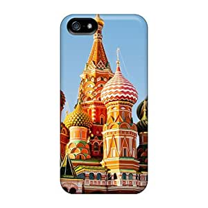 Iphone 5/5s Case, Premium Protective Case With Awesome Look - St Basils Cathedral