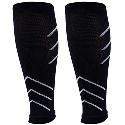 Leg Sleeves - Compression Calf Sleeves - Help Shin Splints, Calf Cramping, Faster Muscle Recovery by Generic (Image #3)