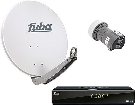 HDTV FUBA – Antena parabólica y 1 participantes DAA 850 ...