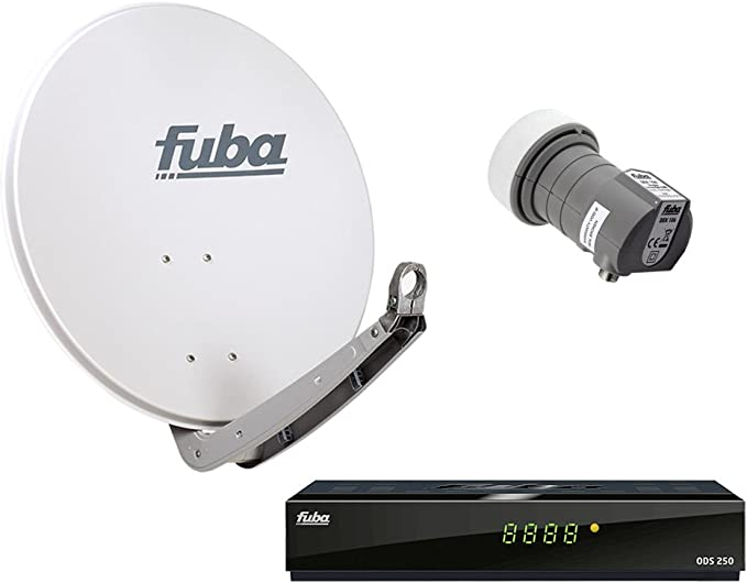 HDTV FUBA – Antena parabólica y 1 participantes DAA 850 Gris ...