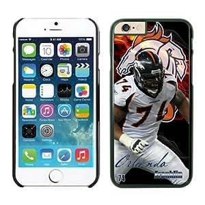 NFL Denver Broncos Orlando Franklin Case Cover For SamSung Galaxy Note 2 Black NFL Case Cover For SamSung Galaxy Note 2 12708