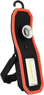 Torcia Elettrica,OHQ MODA Lanterna da campeggio portatile da viaggio T6 + COB LED AA da escursione