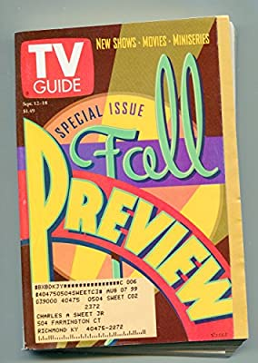 TV Guide-September 12-18-1998-Kentucky Edition