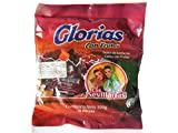Goat's milk candy with pecans  Ingredients:  - Goat Milk - Sugar  - Corn syrup - Sodium Bicarbonate - Nuts  Warning: When you open Glorias bag, you may find them a little greasy. Don´t panic, it is quite normal