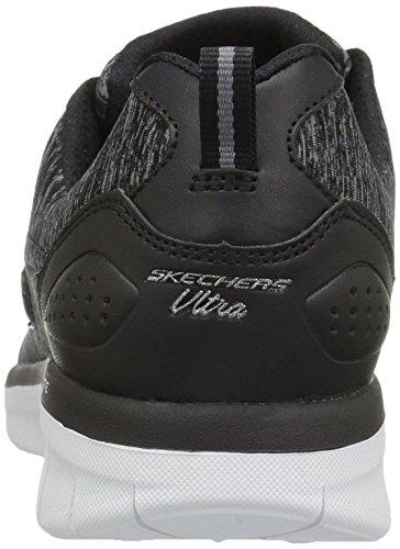 Skechers Damen Synergy 2.0-Scout Mode Sneaker Schwarz-Weiss