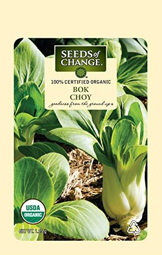 Seeds Of Change 8216 Certified Bok Choy, Organic, Seeds, - Pak Baby