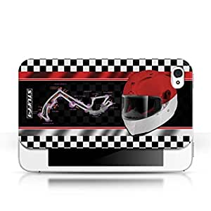 KOBALT? Protective Hard Back Phone Case / Cover for Apple iPhone 4/4S | Monaco/Monte Carlo Design | F1 Track Flag Collection by lolosakes