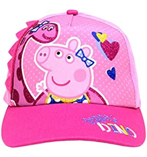 862d3246ab36f Amazon.com  Peppa Pig Pink Peppa Scandinavian Knitted Hat with Pom ...