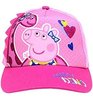 74432499eca56 Amazon.com  Peppa Pig Pink Peppa Scandinavian Knitted Hat with Pom ...