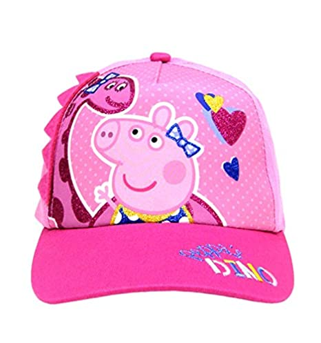 Image Unavailable. Image not available for. Color  Peppa Pig Girls This  Little Piggy Embroidered Baseball Hat e3975854c6d