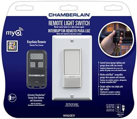 Chamberlain WSLCEV MyQ Light Switch Control