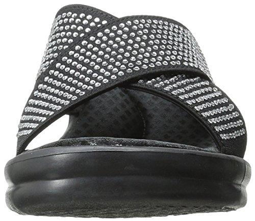 Skechers Ladies Rumblers Metal Mum Mule Black (blk)
