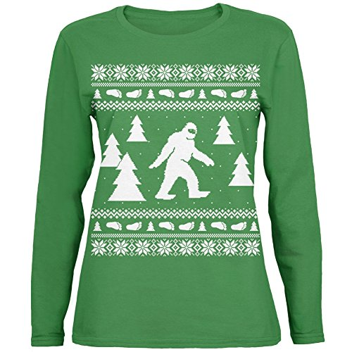 96072b28ec64 Sasquatch Ugly Christmas Sweater Party