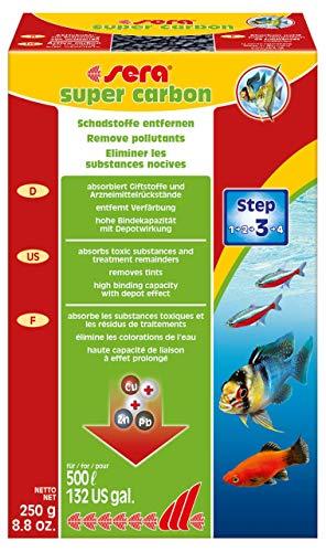 Sera Super Carbon 250 g, 8.8 oz. Aquarium Filter ()