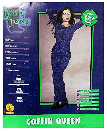 (Rubies Womens 'Coffin Queen' Halloween Costume, Purple,)
