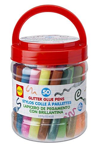 ALEX Toys Artist Studio 50 Glitter Glue Pens
