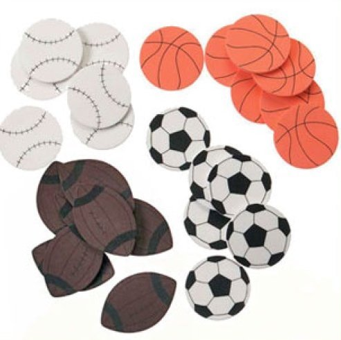 Foamies Foam Stickers (FOAMIES STICKERS BALL)