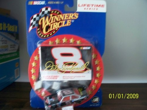 Circle . . . Dale Earnhardt Jr. #8 GM Goodwrench Performance part Chevy Nova 1/64 Diecast . . . Lifetime Series . . . Includes Collector's Card by Nascar ()