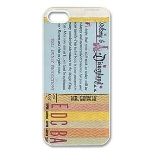 iPhone 4 / iPhone 4s TPU Gel Skin / Cover, Custom TPU iPhone 4g Back Case - Disneyland Ticket