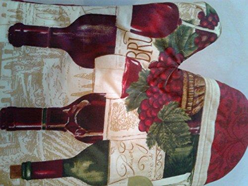 purple wine grape kitchen towel product image