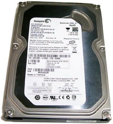 HDD 80GB, BARRACUDA 7200.10 ST380815AS P/N: 9CY131-037 FW: 4.ADA, TH-0HY281 REV.A01 [並行輸入品]