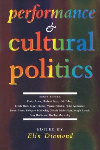Performance and Cultural Politics