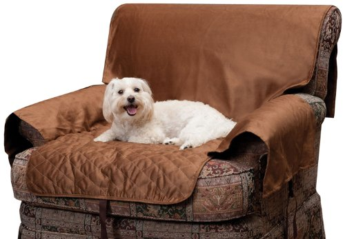 Solvit Chair Full Coverage Pet Bed Protector, Cocoa, My Pet Supplies