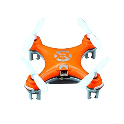 Cheerson CX-10 Mini 2.4G 4CH 6 Axis LED RC Quadcopter Toy Drone: Toys & Games