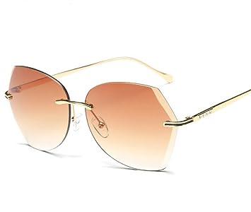 La nueva mujer de las gafas de sol sin montura: Amazon.es ...