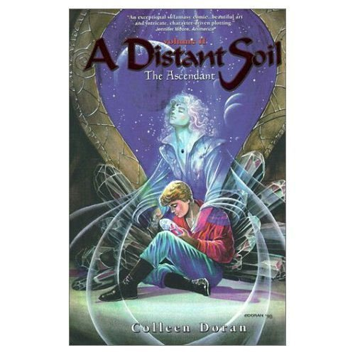 Read Online By Colleen Doran The Ascendant (Distant Soil, Book 2) [Paperback] pdf