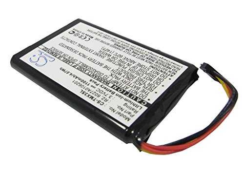 Battery2go - 1 year  - 3.7V Battery For TomTom XXL IQ Routes