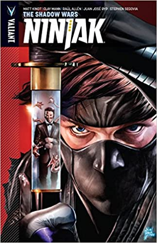 Amazon.com: Ninjak Volume 2: The Shadow Wars (Ninjak: The ...