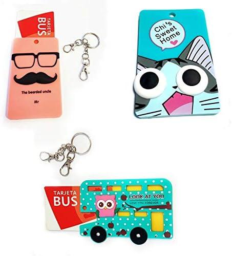Llavero – Tarjeta – Bus – crédito – Club – Pack 3 Unidades ...